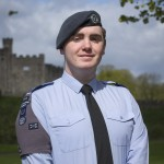 Cadet Corporal Caisel O'Hare of 1344 Squadron RAF Air Cadets based at Maindy, Cardiff © Crown Copyright, SAC Cathy Sharples