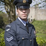 Corporal Tom Woodward of Number 614 Squadron in Cardiff © Crown Copyright, SAC Cathy Sharples
